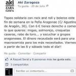 Aki Zaragoza Facebook