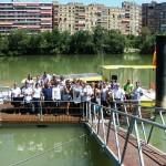 Aragonae realizó un crucero fluvial por el Ebro