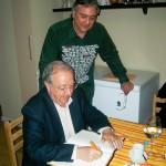 Aragonae recibe a Miguel Caballu con su jornada de tomates secos