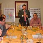 El enólogo Balbino Lacosta visita Aragonae con una cata de vinos