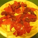 Ensalada de bonito con pimientos