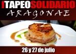 Primer tapeo solidario Aragonae en Zaragoza